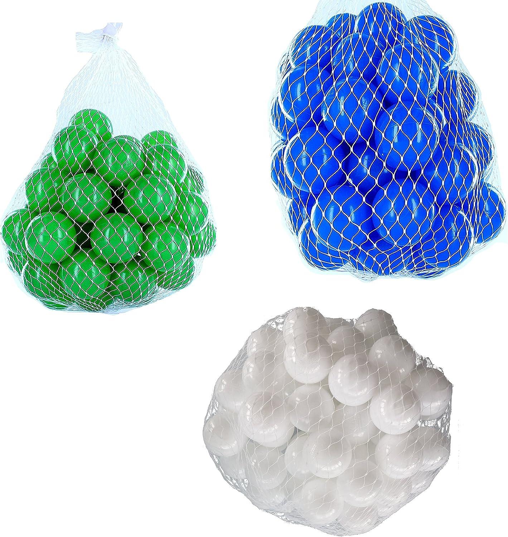 tiempo libre Pelotas para pelotas baño baño baño variadas Mix con blancoo, azul y verde Talla 6000 Stück  Envío 100% gratuito
