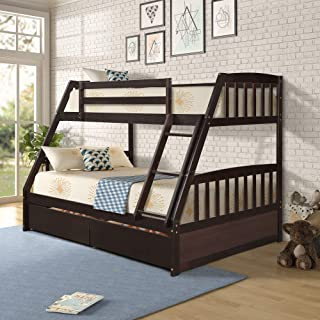 Best twin over full bunk bed clearance Reviews