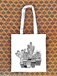 Tote bag Cactus - borsa di tela cotone ecologico - Regalo per donna - regali per lei - Compleanno - Prime