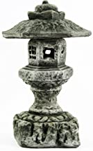 Fleur de Lis Garden Ornaments LLC Hexagonal Pagoda Concrete Statues Japanese Lantern Decor