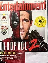 Entertainment Weekly Magazine (May 11, 2018) Deadpool 2 Ryan Reynolds Cover