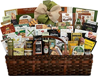Gourmet Choice Gift Basket for Thank You and personalized card mailed seperately CD3280449