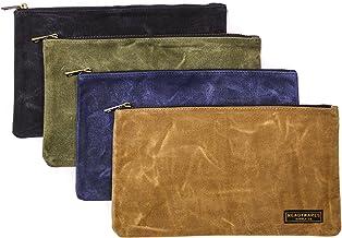 readywares Mumlanmış kanvas fermuarlı alet toz torbası 4'lü paket