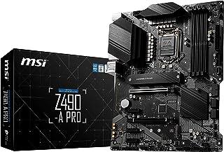 ام اس اي Z490-A برو سيريس لوحة ماسية، ايه تي اكس، الجيل العاشر انتل كور،LGA 1200، مقبس DDR4، فتحات M.2، يو اس بي 3.2 الجيل...