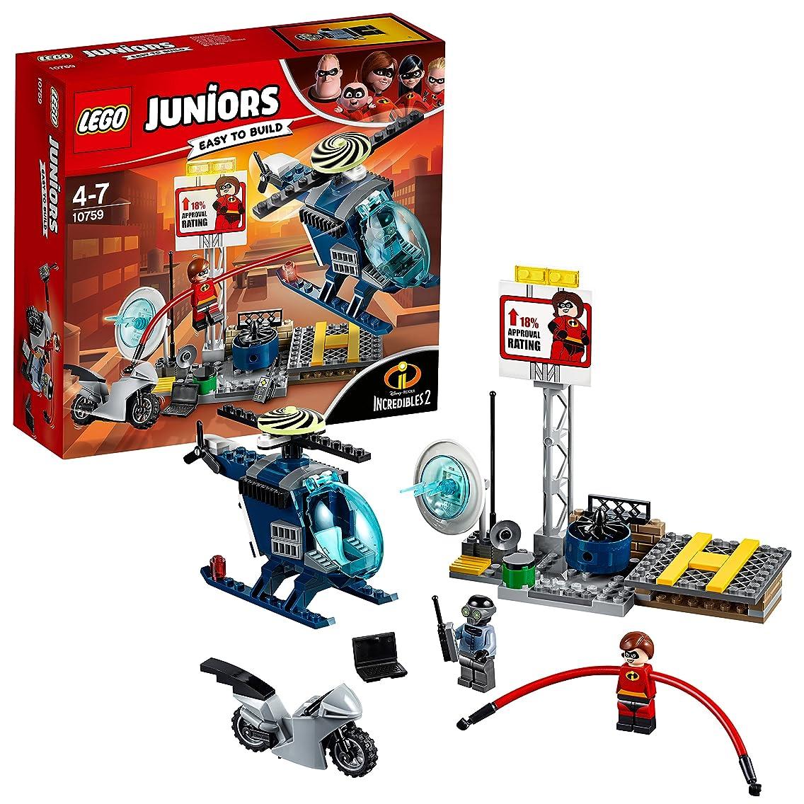 フレア憂鬱年次レゴ(LEGO)ジュニア ミセス?インクレディブルの屋根の上の追跡劇 10759