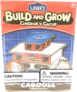 Build and Grow Lowe's Caboose Wood Kit