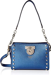 GUESS womens Marlene Midnight Crossbody Top Zip