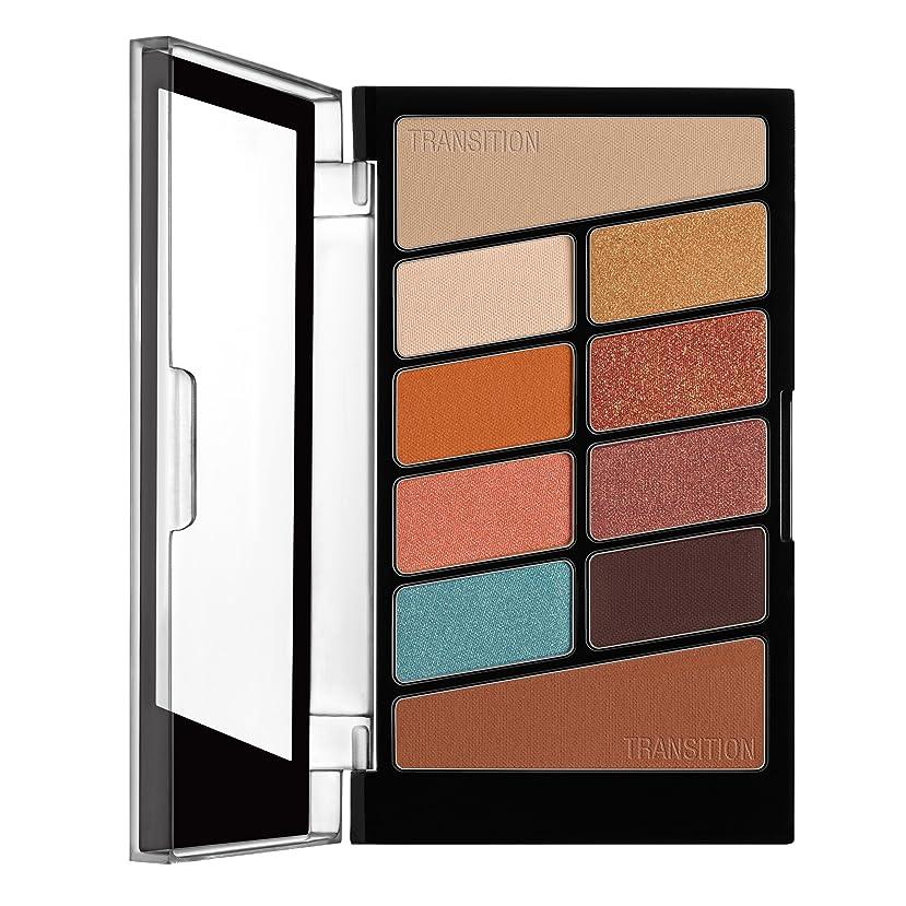 ロック半ば塊WET N WILD Color Icon Eyeshadow 10 Pan Palette - Not A Basic Peach (並行輸入品)