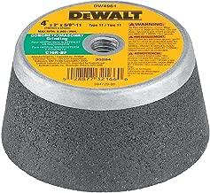 DEWALT Concrete Grinding Wheel, Steel Backed Cup, 4-Inch (DW4961)