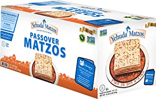 Yehuda Passover Matzos, 5 - 1 lb Packages with one Resealable Stay-Fresh Pouch