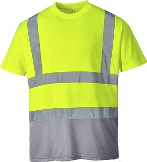 Hi-Vis Camiseta color Amarillo Portwest S478 talla 3 XL