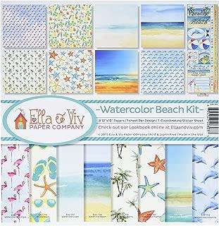 Reminisce EAV-803 Watercolor Beach Collection Kit