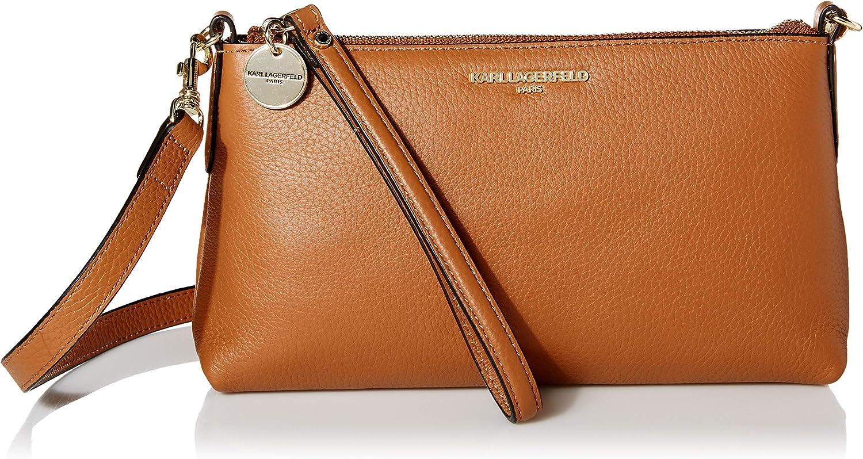 Karl Lagerfeld Paris womens Heather Crossbody Bag