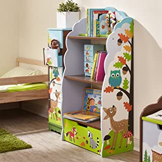 Fantasy Fields Enchanted Woodland TD-11704A Estantería de Madera 58 x 27 x 106 cm Multicolor (Azul/Verde)