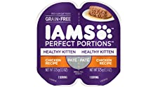 IAMS Perfect PORTIONS Grain Free Wet Cat Food Pate (24 Twin Packs)