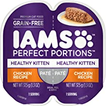 IAMS Perfect Portions Healthy Kitten Grain Free Wet Cat Food (24 Twin Packs)