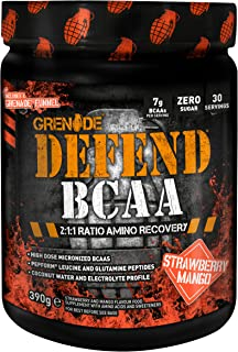 Grenade Defend BCAA, Strawberry Mango, 390 g