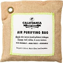 California Home 500g Activated Bamboo Charcoal Deodorizer Natural, Air Purifying Bag, Dehumidifier, Allergy-Free Filters, Odor Neutralizer for Home, Shoes, Car