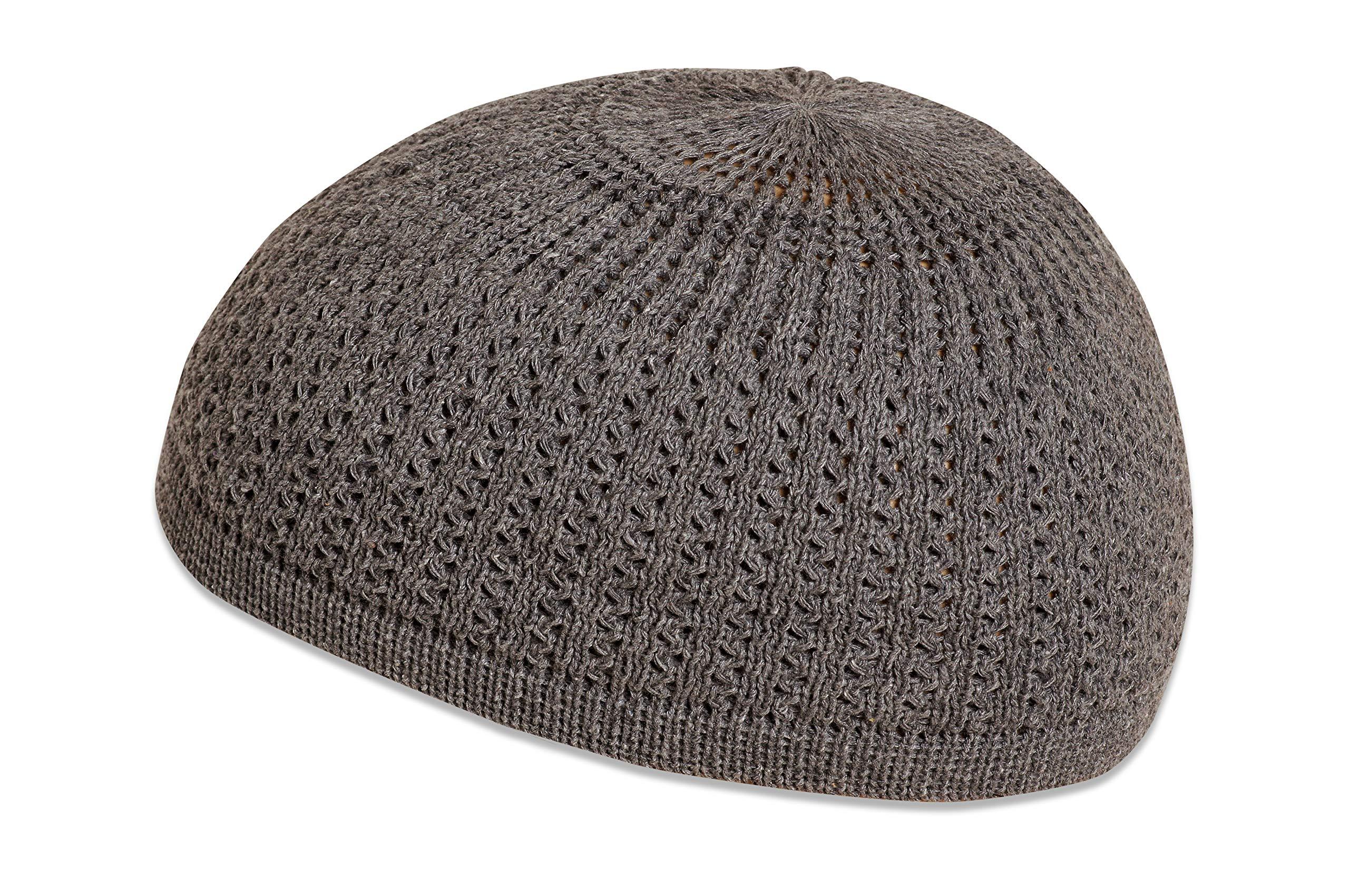 Mens Summer Kufi Skull Cap Cotton Skullcap Muslim Prayer Hat Tight Fit Beanie