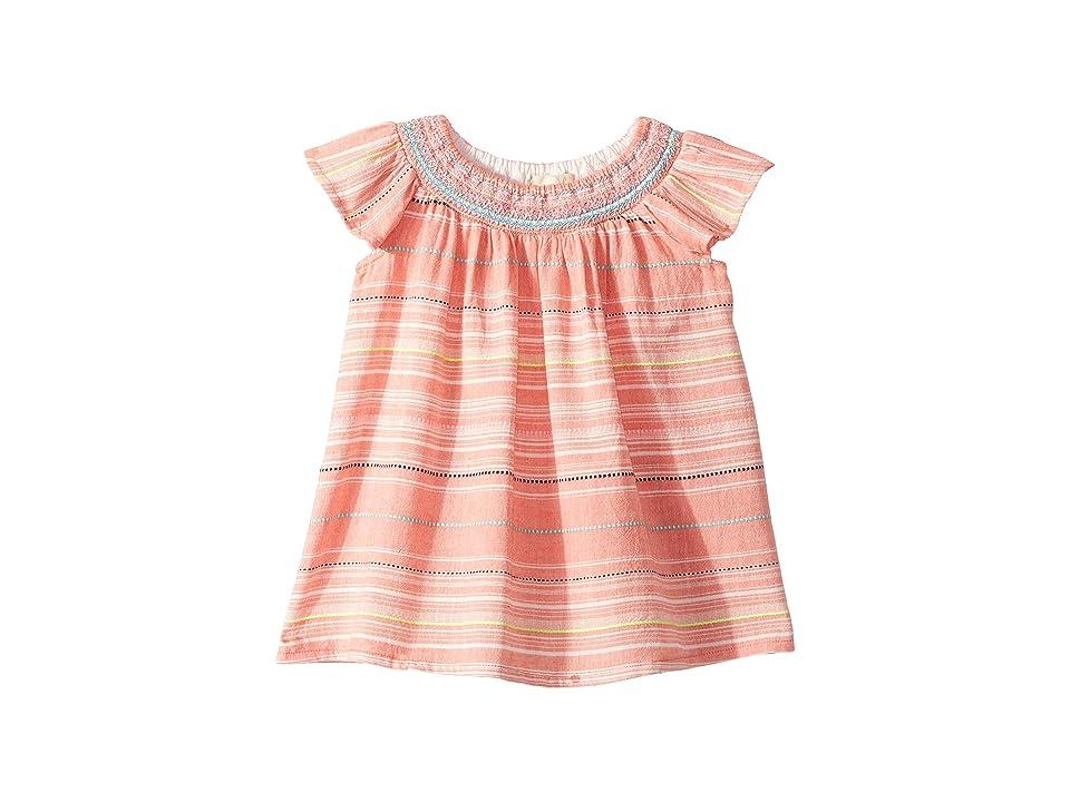 PEEK Harper Dress (Infant) (Hot Pink) Girl