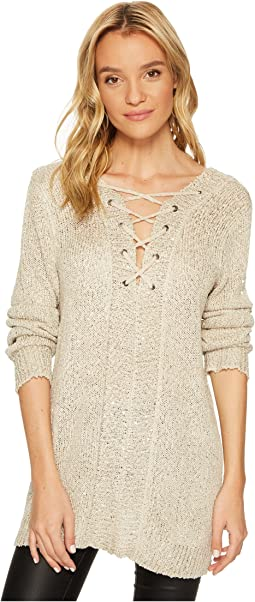Jack by BB Dakota - Jackson Sequin Sweater with Back Detail