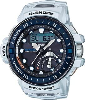 [カシオ] 腕時計 ジーショック MASTER OF G ガルフマスター 世界6局対応電波ソーラー GWN-Q1000-7AJF ホワイト