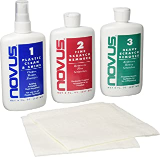 Novus 7100 Plastic Polish Kit – 8 Ounce
