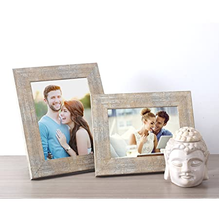Art Street Desginer Gold Table Photo Frame Set of 2 Antique Table Photo Frame (Gold)