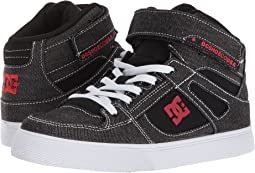 DC Kids Pure High-Top TX SE EV (Little Kid/Big Kid)