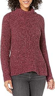 Goodthreads Jersey de Punto de algodón con Cuello de Tortuga Chamarra sin botón para Mujer