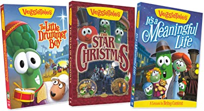 Veggietales (The Little Drummer Boy / The Star of Christmas / Its a meaningful life) (3-pack)