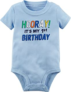 Carter's Baby Boys' 1st Birthday Collectible Bodysuit