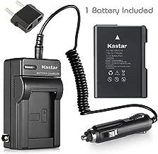 Kastar Battery (1-Pack) and Charger Kit for Nikon EN-EL14, EN-EL14a, MH-24 and Coolpix P7000, P7100, P7700, P7800, D3100, D3200, D3300, D5100, D5200, D5300, D5500 DSLR, Df DSLR Cameras