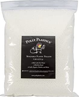 Moldable Plastic Pellets by Polly Plastics (80 oz. Value Pack) | Thermoplastic Beads | Great for Cosplay, Projects, Repairs, Hobbies, Art, Sculpture