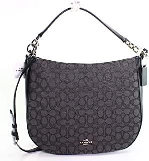 COACH Womens Chelsea 32 Hobo in Signature