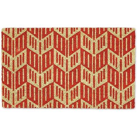 """DII Natural Coir Doormat, Geometric Doormat, Arrow Head, 18x30"""""""