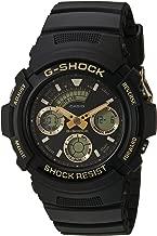 Casio Men's G Shock Quartz Watch with Resin Strap, Black, 23 (Model: AW-591GBX-1A9CR)