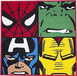 Marvel Character World Disney Comics Defenders Shaped Rug