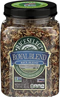 RiceSelect Royal Blend, Texmati White, Brown, Wild, and Red Rice, 21 Ounce (1 Count) - PACK OF 2