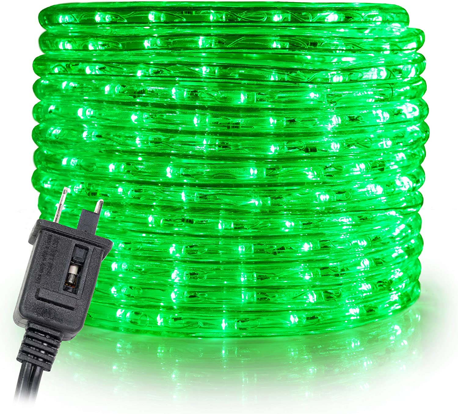 WYZworks 100' feet Ranking TOP18 National products Green LED Rope Lights Accen Wire - 2 Flexible