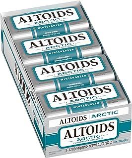 ALTOIDS Artic Mints, Wintergreen Singles Size 1.2 Ounce 8-Count Box