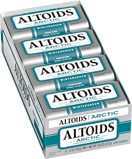 Altoids Arctic Mints, Wintergreen, 1.2 Ounce (8 count)