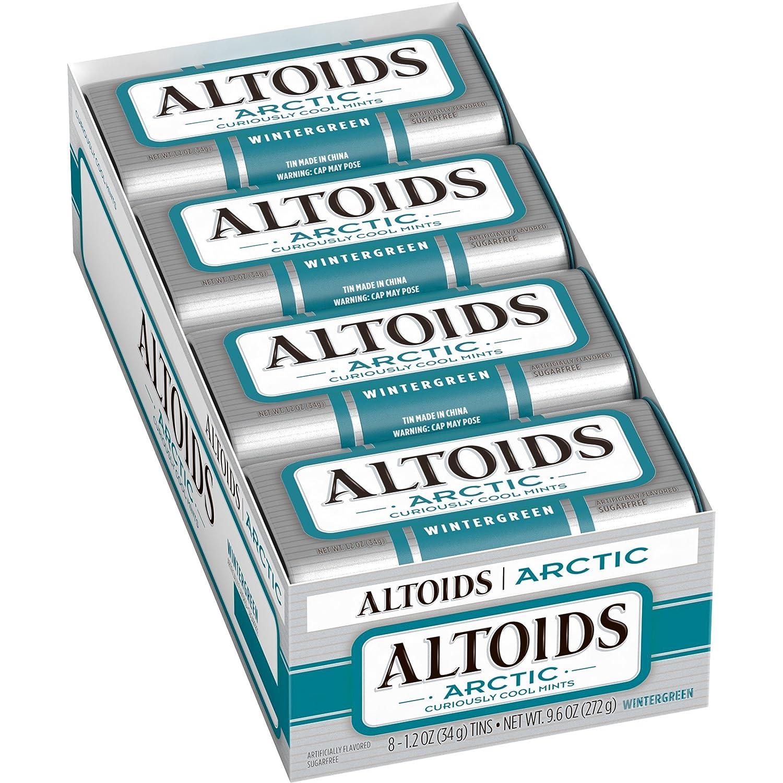 ALTOIDS Nippon regular agency Artic Mints Ranking TOP8 Wintergreen Singles 1.2 8-Count Ounce Size
