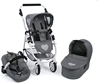 Bayer Chic 2000 637 76 Carrito Emotion All in, 3 en 1