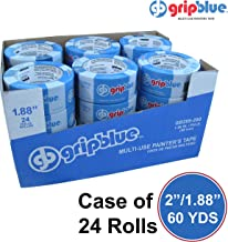 """Blue Painters Tape 1.88""""/48mm X 60 YDs - Case of 24 Rolls 