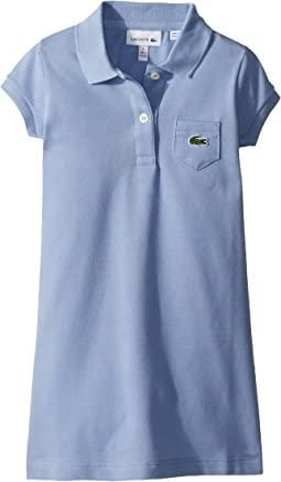 Lacoste Kids Classic Pique Dress with Pocket (Toddler/Little Kids/Big Kids)