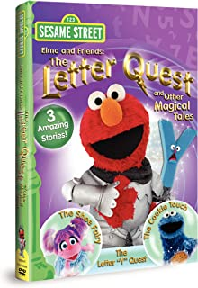 Sesame Street Elmo & Friends: The Letter Quest & Other Magical Tales