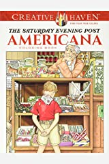 Creative Haven The Saturday Evening Post Americana Coloring Book (Creative Haven Coloring Books) Paperback