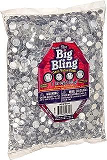 Darice 1078-20C Big Bag of Rhinestones, Round Crystal