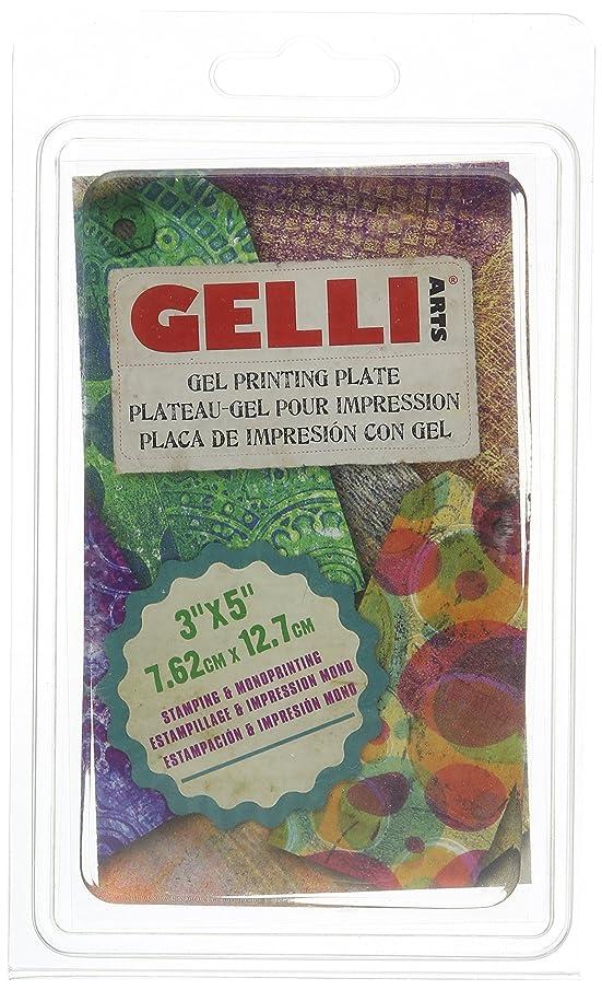 Gelli Arts Gel Printing Plate 3X5 Inches